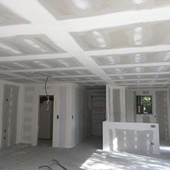 ponçage bande placo préparation sous couche avant peinture maison neuve Bordeaux
