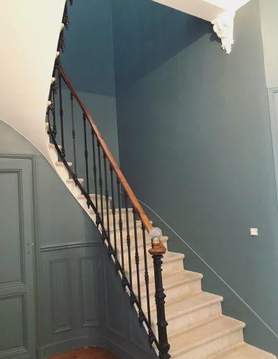 Peinture rénovation échoppe bordeaux