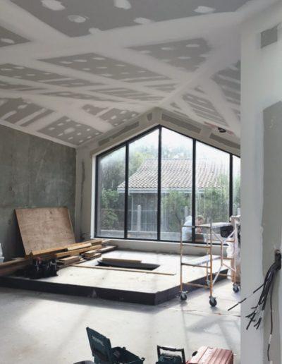 préparation avant peinture plafond et murs