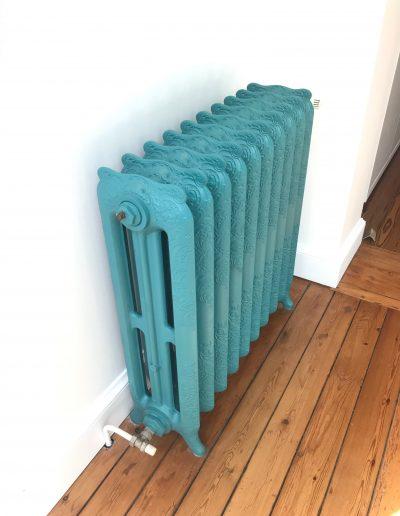 peinture rénovation radiateur ancien