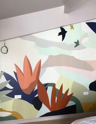 Tapisserie, papier peint décoratif haut de gamme